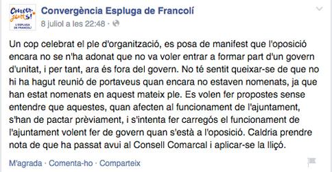 CDC Espluga_Espluga